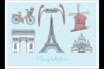 Les gabarits Fêtes à Paris pour votre prochain événement Étiquettes rectangulaires - gabarit prédéfini. <br/>Utilisez notre logiciel Avery Design & Print Online pour personnaliser facilement la conception.