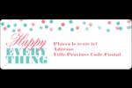 Les gabarits Happy Everything pour votre prochain projet Étiquettes D'Adresse - gabarit prédéfini. <br/>Utilisez notre logiciel Avery Design & Print Online pour personnaliser facilement la conception.