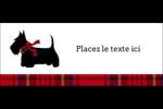 Terrier écossais Affichette - gabarit prédéfini. <br/>Utilisez notre logiciel Avery Design & Print Online pour personnaliser facilement la conception.