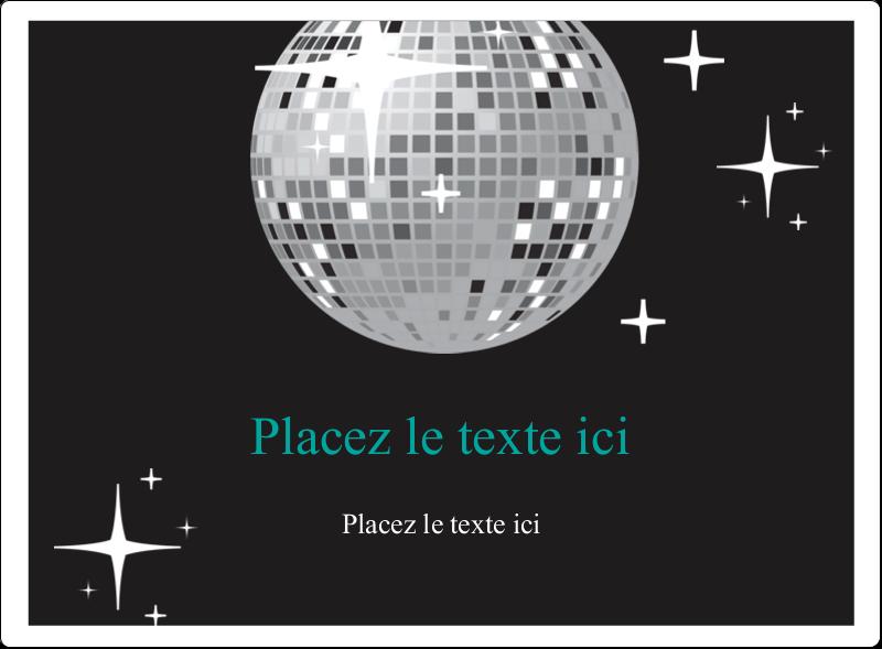 Les gabarits Boule disco pour votre prochain projet Étiquettes rectangulaires - gabarit prédéfini. <br/>Utilisez notre logiciel Avery Design & Print Online pour personnaliser facilement la conception.