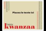 Les gabarits Kwanzaa pour votre prochain projet des Fêtes Étiquettes rectangulaires - gabarit prédéfini. <br/>Utilisez notre logiciel Avery Design & Print Online pour personnaliser facilement la conception.