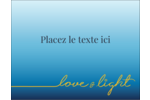 Hanoukka minimaliste Carte Postale - gabarit prédéfini. <br/>Utilisez notre logiciel Avery Design & Print Online pour personnaliser facilement la conception.