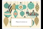 Motif de décorations Étiquettes rectangulaires - gabarit prédéfini. <br/>Utilisez notre logiciel Avery Design & Print Online pour personnaliser facilement la conception.