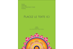 Rangolis Divali Carte Postale - gabarit prédéfini. <br/>Utilisez notre logiciel Avery Design & Print Online pour personnaliser facilement la conception.