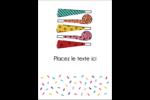 Les gabarits Trompettes pour votre prochain projet des Fêtes Étiquettes rectangulaires - gabarit prédéfini. <br/>Utilisez notre logiciel Avery Design & Print Online pour personnaliser facilement la conception.