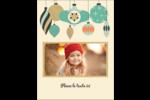 Motif de décorations Carte Postale - gabarit prédéfini. <br/>Utilisez notre logiciel Avery Design & Print Online pour personnaliser facilement la conception.