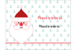 Père Noël Carte Postale - gabarit prédéfini. <br/>Utilisez notre logiciel Avery Design & Print Online pour personnaliser facilement la conception.
