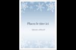 Les gabarits Flocon de neige élégant pour votre prochain projet des Fêtes Étiquettes rectangulaires - gabarit prédéfini. <br/>Utilisez notre logiciel Avery Design & Print Online pour personnaliser facilement la conception.