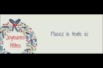 Couronne Affichette - gabarit prédéfini. <br/>Utilisez notre logiciel Avery Design & Print Online pour personnaliser facilement la conception.