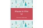 Les gabarits Motif d'arbres pour votre prochain projet des Fêtes Carte Postale - gabarit prédéfini. <br/>Utilisez notre logiciel Avery Design & Print Online pour personnaliser facilement la conception.