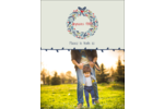 Couronne Carte Postale - gabarit prédéfini. <br/>Utilisez notre logiciel Avery Design & Print Online pour personnaliser facilement la conception.