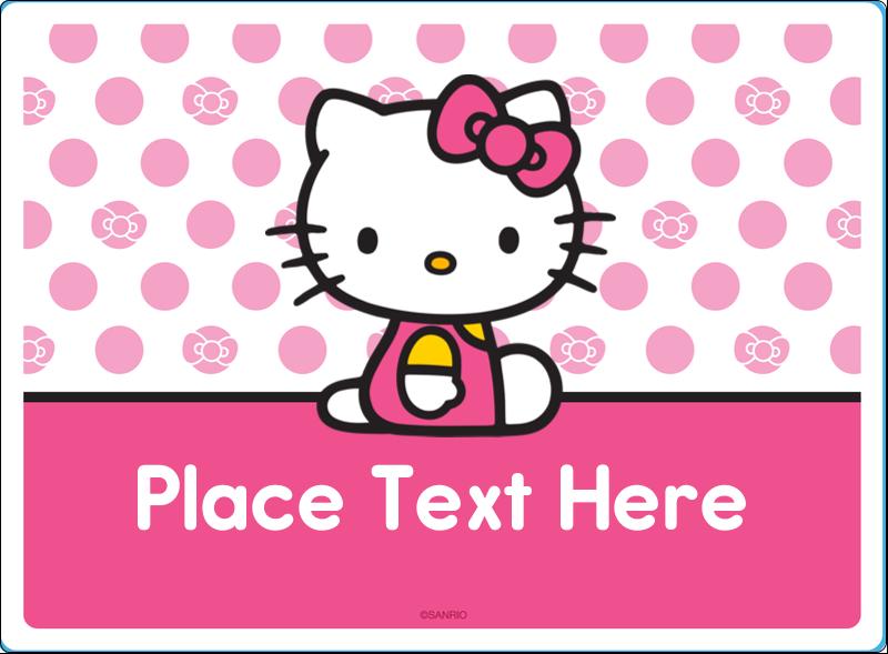 "3½"" x 4¾"" Rectangular Label - Pretty in Pink"