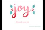 « Joy » écrit à la main Étiquettes rectangulaires - gabarit prédéfini. <br/>Utilisez notre logiciel Avery Design & Print Online pour personnaliser facilement la conception.