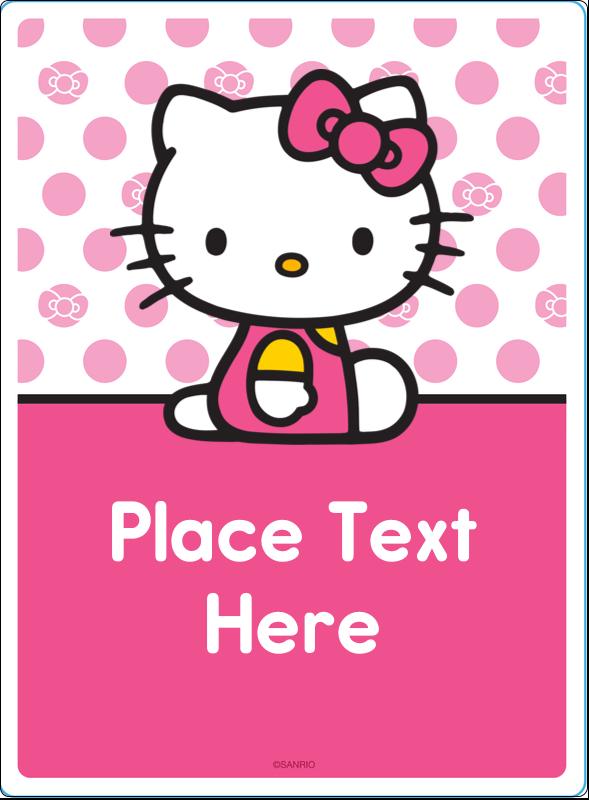 "4¾"" x 3½"" Rectangular Label - Pretty in Pink"