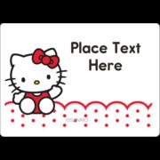 Hello Kitty Waving