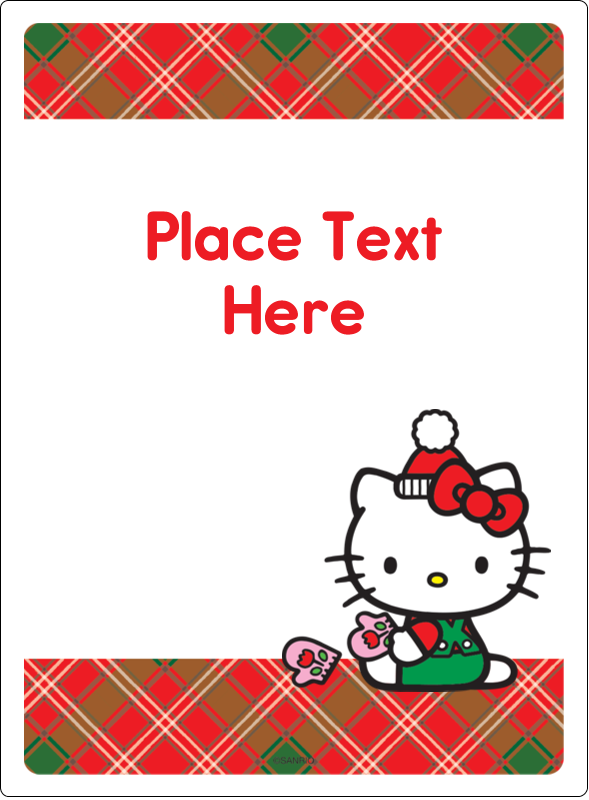 "4¾"" x 3½"" Rectangular Label - Warm Holiday Wishes"