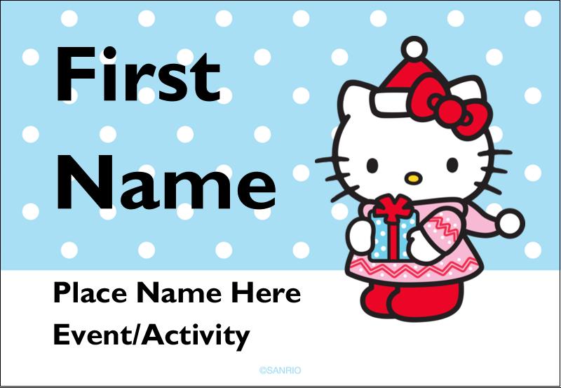 """3⅜"""" x 2⅓"""" Name Badge - Small Gift, Big Smile®"""
