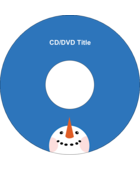 Your custom project is looking up with pre-designed Frosty Face templates.