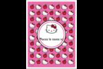 Hello Kitty adore les pommes! Étiquettes rectangulaires - gabarit prédéfini. <br/>Utilisez notre logiciel Avery Design & Print Online pour personnaliser facilement la conception.