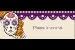 Halloween, jour des Morts Étiquettes D'Adresse - gabarit prédéfini. <br/>Utilisez notre logiciel Avery Design & Print Online pour personnaliser facilement la conception.