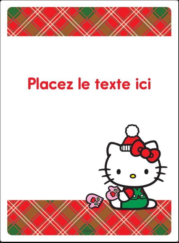 """4¾"""" x 3½"""" Étiquettes rectangulaires - Souhaits chaleureux pour la période des fêtes"""