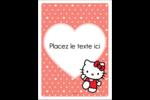 Nous aimons Hello Kitty Étiquettes rectangulaires - gabarit prédéfini. <br/>Utilisez notre logiciel Avery Design & Print Online pour personnaliser facilement la conception.