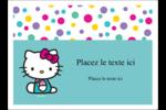 Fête Hello Kitty Étiquettes rectangulaires - gabarit prédéfini. <br/>Utilisez notre logiciel Avery Design & Print Online pour personnaliser facilement la conception.