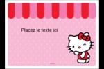 Clin d'œil Hello Kitty Étiquettes rectangulaires - gabarit prédéfini. <br/>Utilisez notre logiciel Avery Design & Print Online pour personnaliser facilement la conception.