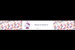 Hello Kitty Anniversaire Étiquettes enveloppantes - gabarit prédéfini. <br/>Utilisez notre logiciel Avery Design & Print Online pour personnaliser facilement la conception.