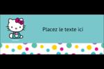 Fête Hello Kitty Affichette - gabarit prédéfini. <br/>Utilisez notre logiciel Avery Design & Print Online pour personnaliser facilement la conception.