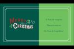 Joyeux Carte d'affaire - gabarit prédéfini. <br/>Utilisez notre logiciel Avery Design & Print Online pour personnaliser facilement la conception.