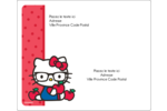 Votre Ami Hello Kitty Étiquettes d'expédition - gabarit prédéfini. <br/>Utilisez notre logiciel Avery Design & Print Online pour personnaliser facilement la conception.