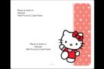 Nous aimons Hello Kitty Étiquettes d'expédition - gabarit prédéfini. <br/>Utilisez notre logiciel Avery Design & Print Online pour personnaliser facilement la conception.
