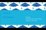 Mortiers de diplômés Carte d'affaire - gabarit prédéfini. <br/>Utilisez notre logiciel Avery Design & Print Online pour personnaliser facilement la conception.
