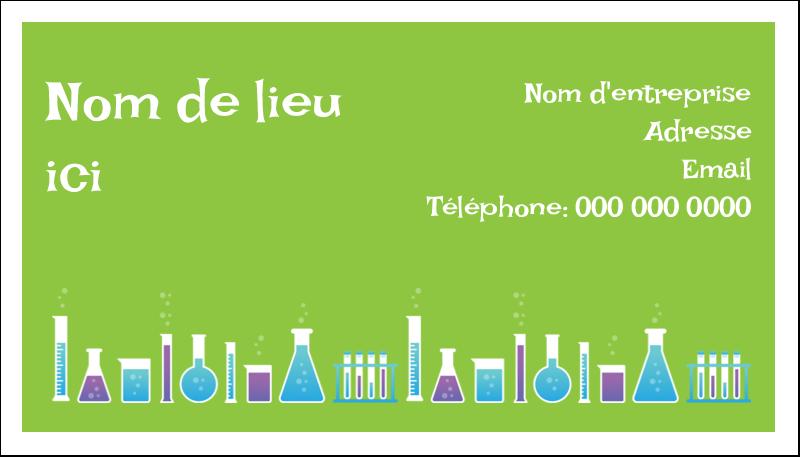 """2"""" x 3½"""" Cartes d'affaires - Célébration de savant fou"""