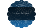 Add celebratory flair to projects with pre-designed New Year Blue Fireworks templates.
