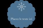Les gabarits Flocons de neige pour votre prochain projet des Fêtes Étiquettes rondes - gabarit prédéfini. <br/>Utilisez notre logiciel Avery Design & Print Online pour personnaliser facilement la conception.