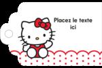 Salut Hello Kitty Étiquettes imprimables - gabarit prédéfini. <br/>Utilisez notre logiciel Avery Design & Print Online pour personnaliser facilement la conception.
