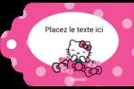 Hello Kitty rigole Étiquettes imprimables - gabarit prédéfini. <br/>Utilisez notre logiciel Avery Design & Print Online pour personnaliser facilement la conception.
