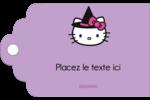 Halloween Hello Kitty Étiquettes imprimables - gabarit prédéfini. <br/>Utilisez notre logiciel Avery Design & Print Online pour personnaliser facilement la conception.