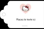 Nous aimons Hello Kitty Étiquettes imprimables - gabarit prédéfini. <br/>Utilisez notre logiciel Avery Design & Print Online pour personnaliser facilement la conception.