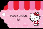 Clin d'œil Hello Kitty Étiquettes imprimables - gabarit prédéfini. <br/>Utilisez notre logiciel Avery Design & Print Online pour personnaliser facilement la conception.