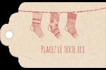 Bas de Noël suspendus Étiquettes imprimables - gabarit prédéfini. <br/>Utilisez notre logiciel Avery Design & Print Online pour personnaliser facilement la conception.