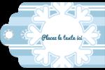 Les gabarits Flocon de neige bleu pour votre prochain projet des Fêtes Étiquettes imprimables - gabarit prédéfini. <br/>Utilisez notre logiciel Avery Design & Print Online pour personnaliser facilement la conception.