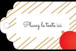 Boules de Noël Étiquettes imprimables - gabarit prédéfini. <br/>Utilisez notre logiciel Avery Design & Print Online pour personnaliser facilement la conception.