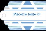 Étoile de Hanoukka Étiquettes imprimables - gabarit prédéfini. <br/>Utilisez notre logiciel Avery Design & Print Online pour personnaliser facilement la conception.