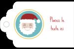 Père Noël Étiquettes imprimables - gabarit prédéfini. <br/>Utilisez notre logiciel Avery Design & Print Online pour personnaliser facilement la conception.