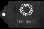 Guirlande sur tableau noir Étiquettes imprimables - gabarit prédéfini. <br/>Utilisez notre logiciel Avery Design & Print Online pour personnaliser facilement la conception.