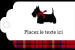 Terrier écossais Étiquettes imprimables - gabarit prédéfini. <br/>Utilisez notre logiciel Avery Design & Print Online pour personnaliser facilement la conception.