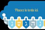 Toupie de Hanoukka Étiquettes imprimables - gabarit prédéfini. <br/>Utilisez notre logiciel Avery Design & Print Online pour personnaliser facilement la conception.